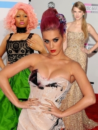 2011 American Music Awards Celebrity Dresses