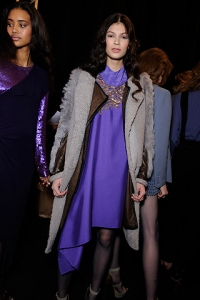 Fall/Winter 2010 Rich Purple Fashion Color Trend