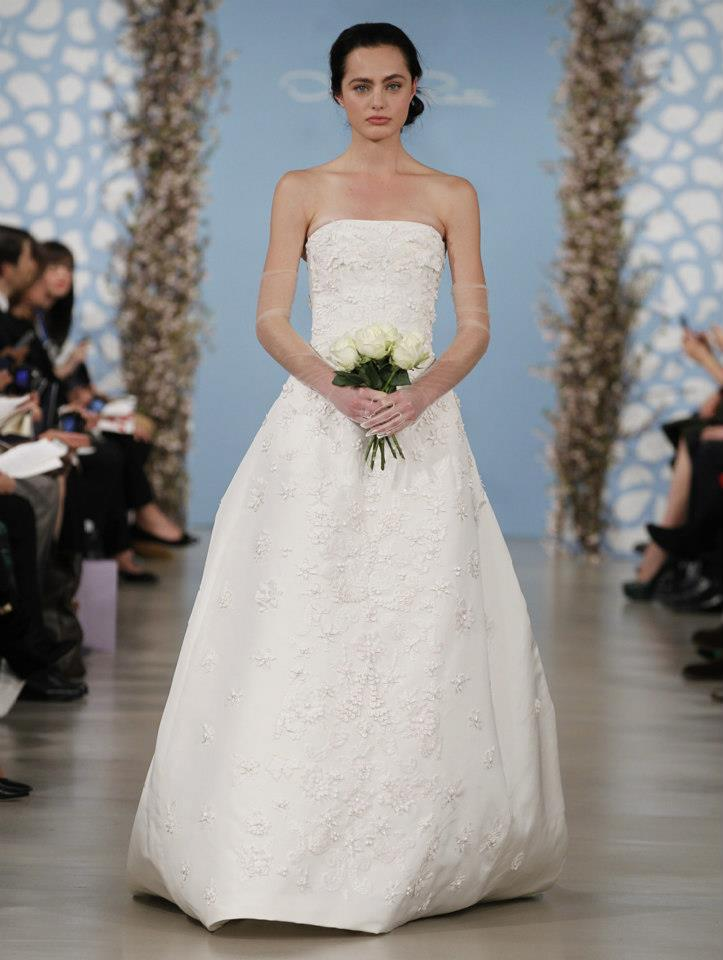 Oscar De La Renta Wedding Dresses Spring 2014 (12)