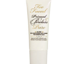 Too Faced Primed   Poreless Pure Oil Free Skin Smoothing Face Primer For Sensitive Skin  1 Oz