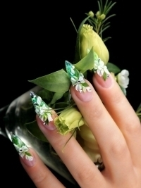 Acrylic Nail Art Designs for Summer