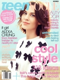 Alexa Chung Talks Style and New Show with Teen Vogue November 2011