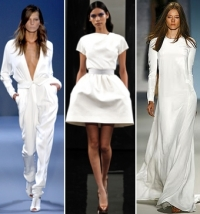 Spring/Summer 2011 All White Fashion Trend