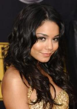 Vanessa Hudgens with Long Layered Hairstyle