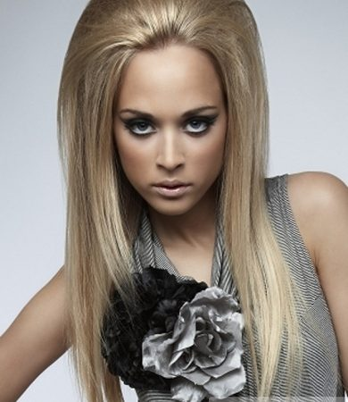 Long Party Glam Hair Style