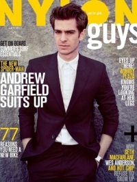 Andrew Garfield Covers NYLON Guys June/July 2012