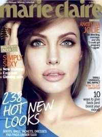 Angelina Jolie Talks Family and Career with Marie Claire US January 2012