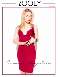 Anna Paquin Covers Zooey Magazine | Talks Bisexuality