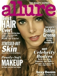Ashley Greene Talks Beauty, Diet and Twilight with Allure November 2011
