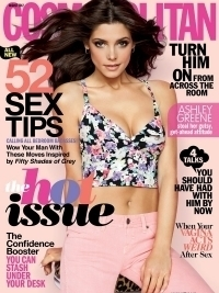Ashley Greene Covers Cosmopolitan August 2012