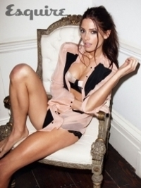 Ashley Greene Lingerie Babe in Esquire August 2012 Feature
