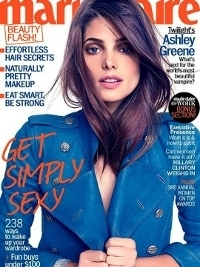 Ashley Greene Covers Marie Claire November 2012