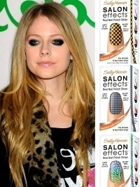 Avril Lavigne for Sally Hansen Complete Nail Strips Collection
