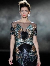 Badgley Mischka Fall 2013 Collection New York Fashion Week