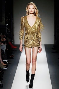 Fall/Winter 2010 Glitter Glam Fashion Trend