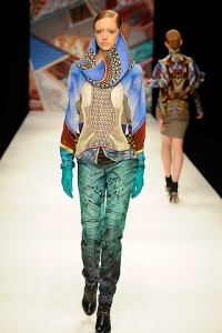 Fall/Winter 2010 Printed Pants Trend