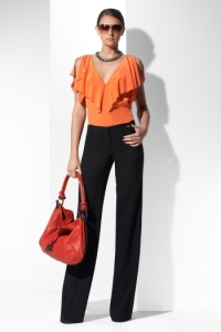 How to Wear the Color Orange