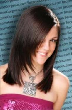 Long Layered Cut for Straight Hair