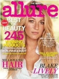 Blake Lively Covers Allure October 2012