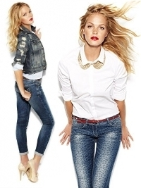Erin Heatherton for Blanco Jeans F/W 2012 Campaign