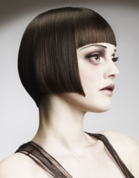 Chic Bold Bangs Hair Styles