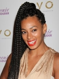 90s Hairstyle Trends: Box Braids