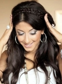 How to Style a Braided Headband