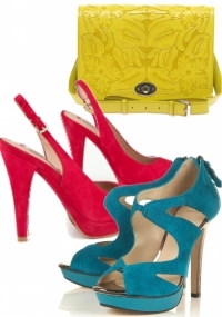 Summer 2011 Trends – Bright Shoes and Handbags