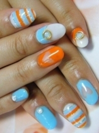 Alluring Spring Nail Art Ideas