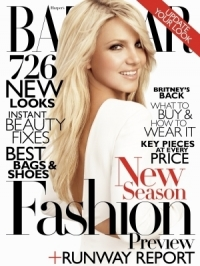 Britney Spears Covers Harper's Bazaar June/July 2011