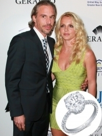 Britney Spears's Engagement Ring to Jason Trawick  Revealed