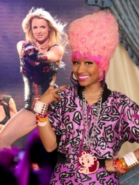 Britney Spears Signs Nicki Minaj for Tour