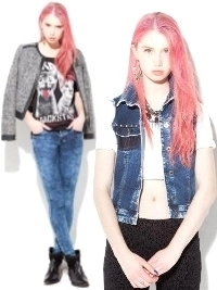 BSK by Bershka November 2012 Lookbook