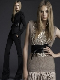 Burberry Fall/Winter 2011 Eveningwear Collection