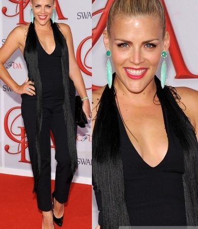 Busy Phillips in Martin Margiela Jumpsuit