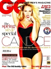 Candice Swanepoel Sizzles on the Cover of GQ UK May 2012