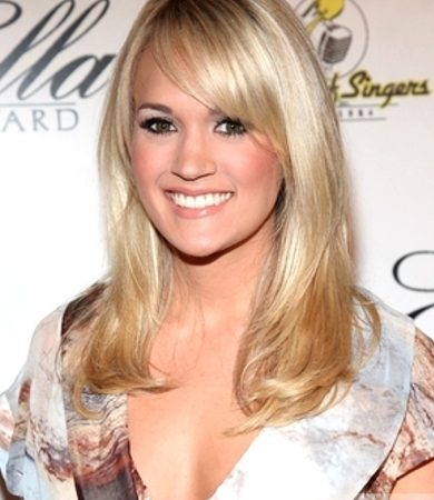 Pictures Carrie Underwood Hairstyles Carrie Underwood Layered