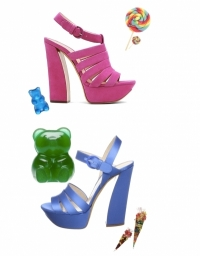 Casadei Candy Shoes Spring 2011 Collection