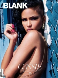 Cassie Covers 'Blank' Magazine July 2011