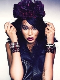 Chanel Iman Stars in Forever 21 'Let It Glow' Holiday 2012 Campaign