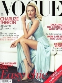 Charlize Theron Talks Family with British Vogue