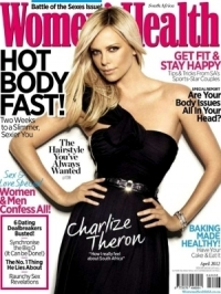Charlize Theron Reveals Unpopular High School Past in Women's Health