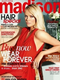 Charlize Theron Covers Madison Magazine June 2012