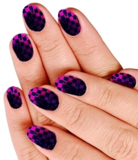 Checkered Nail Designs