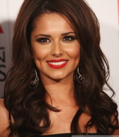 Cheryl Cole Loose Curly Hairstyle