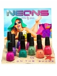 China Glaze Neons On The Shore Summer 2013 Collection