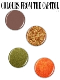 China Glaze Colors From The Capitol – Hunger Games Nail Polishes