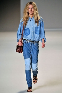 Patched Jeans Trend 2010