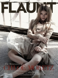 Chloë Moretz Talks Fashion and College with Flaunt Magazine