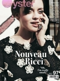 Christina Ricci Covers Oyster Magazine #97